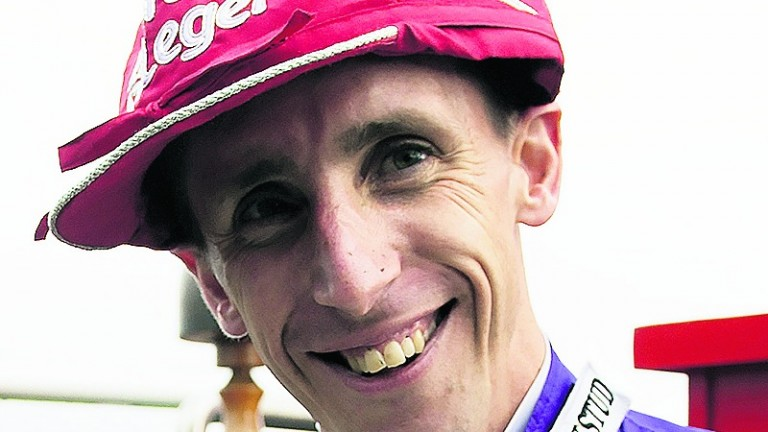George Baker: a Classic winner in the St Leger on Harbour Law two years ago