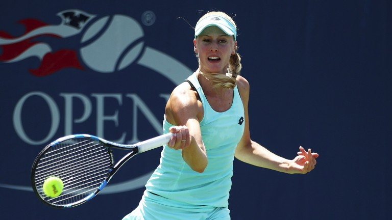 Naomi Broady could take the game to Timea Babos