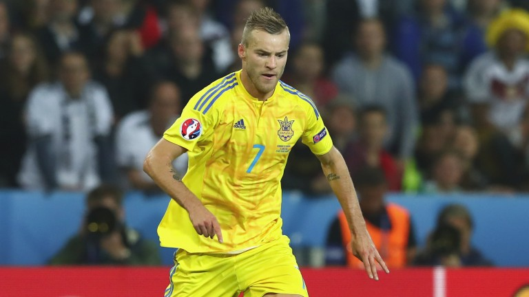 Dortmund's Andriy Yarmolenko