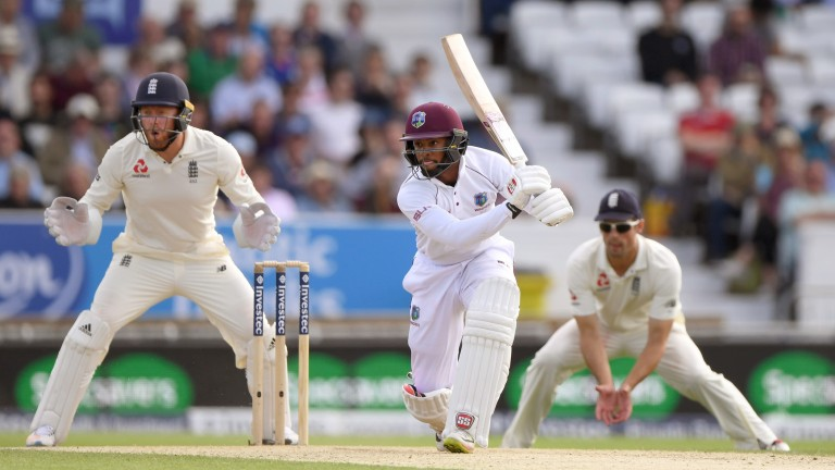 Shai Hope has hit two centuries and a fifty in his last four innings