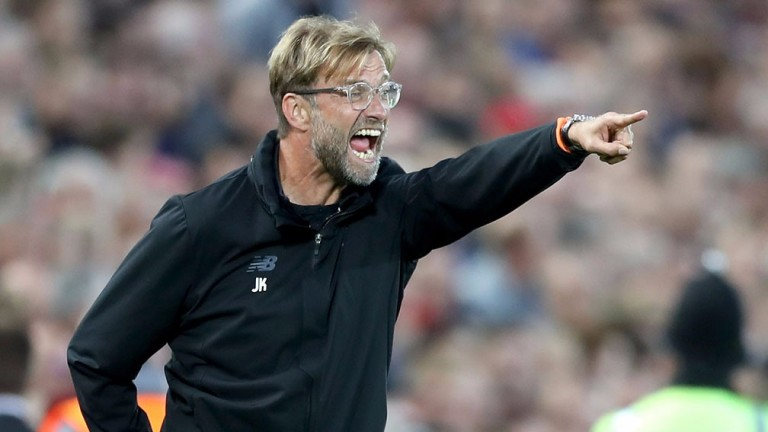 Liverpool manager Jurgen Klopp will want a reaction to Saturday's 5-0 loss at Manchester City