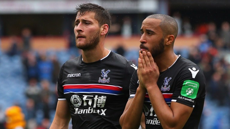 Crystal Palace lost to Burnley last Sunday