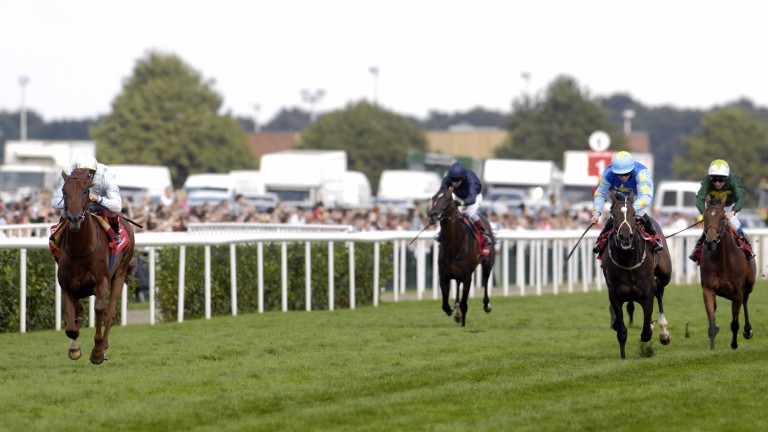 Conduit and Frankie Dettori run away with the 2008 St Leger