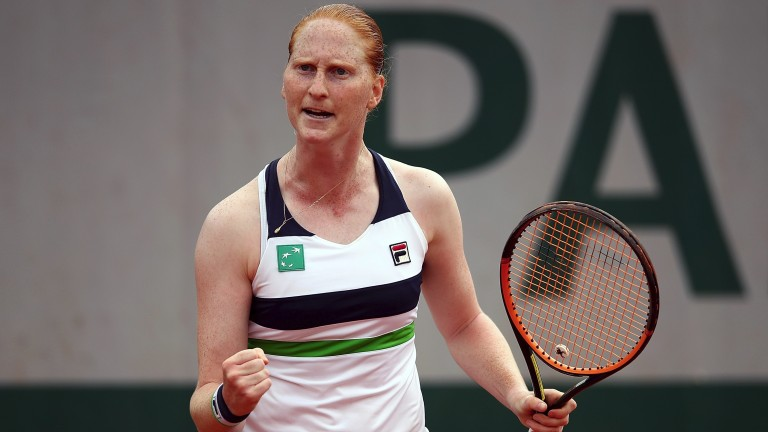 Alison Van Uytvanck is an improving performer