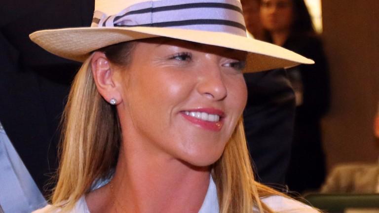 Kerri Radcliffe revealed that Three Chimneys would share the $850,000 Violence colt Phoenix bought on Tuesday