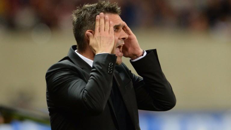 Bordeaux head coach Jocelyn Gourvennec