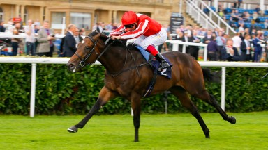 Ardad and Frankie Dettori win last year's Flying Childers Stakes