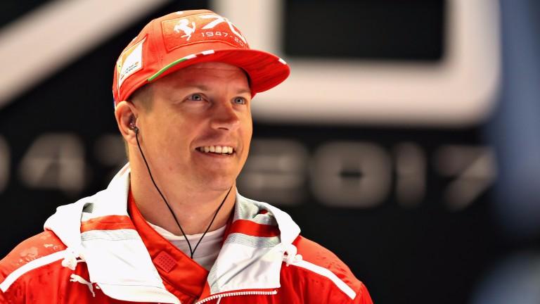 Kimi Raikkonen has had plenty to smile about recently