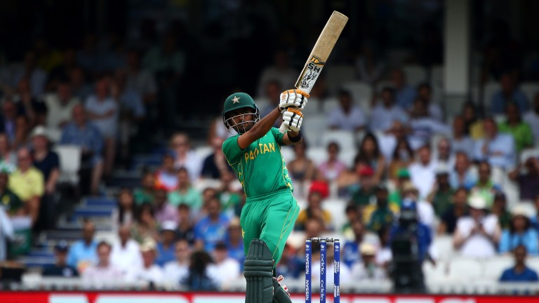 Babar Azam goes on the attack for Pakistan in the Champions Trophy final in June