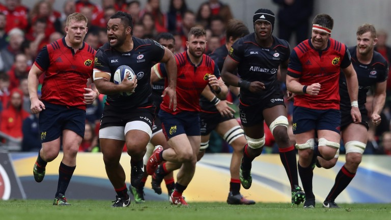 Barnstorming Billy Vunipola is back for Saracens