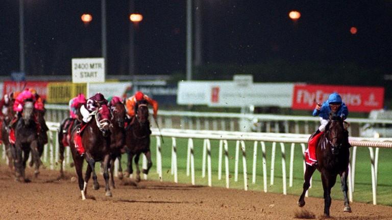 Dubai Millennium: Godolphin's best horse according to Racing Post Ratings