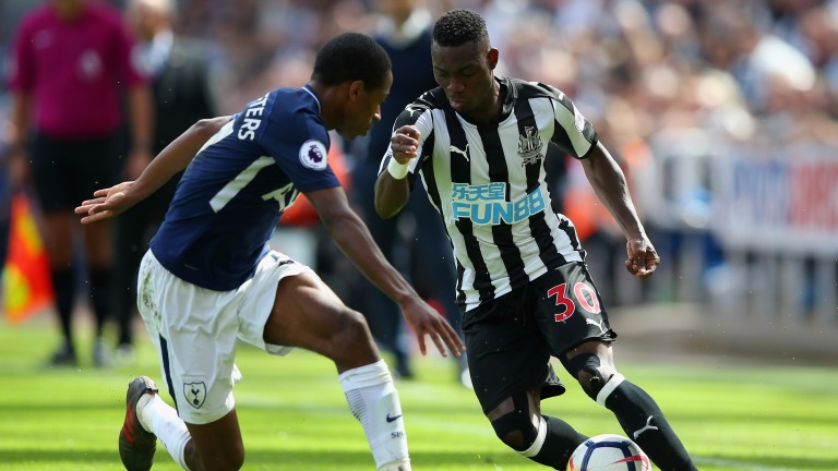 Christian Atsu will be looking to start for Newcastle