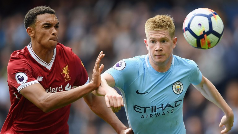 Kevin De Bruyne has been in great form for Manchester City