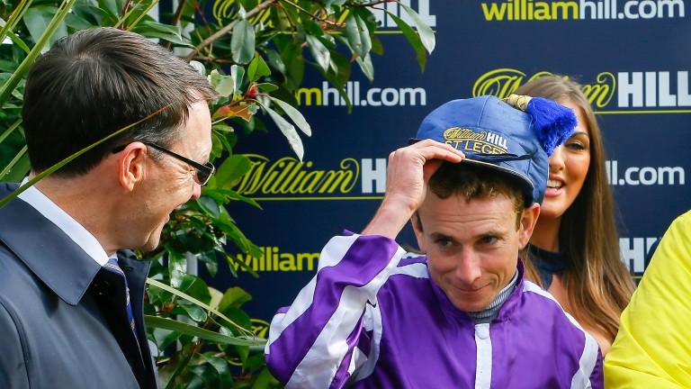 Aidan O'Brien and Ryan Moore: team up with The Irish Rover