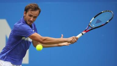 Russia's Daniil Medvedev has a big future in tennis