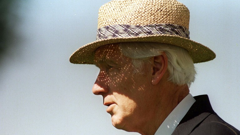 Geoff Wragg at Ascot in August 1998