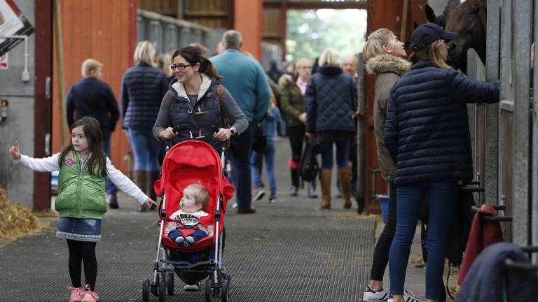 Grand day out: fun for all the family at the popular Malton open day on Sunday