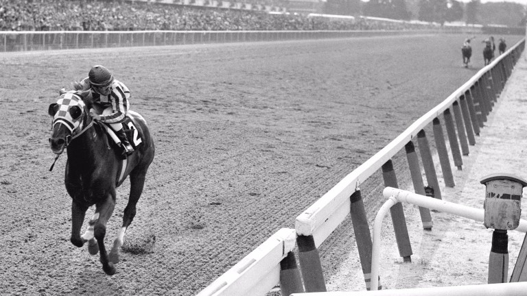 Secretariat first, the rest nowhere: a famous victory in the 1973 Belmont Stakes