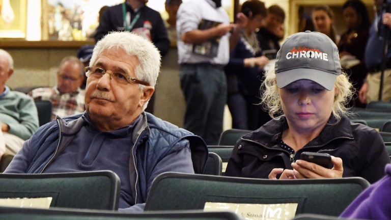Oussama Aboughgazale and Frances Relihan spent $500,000 on a son of Will Take Charge in their quest for stallion prospects