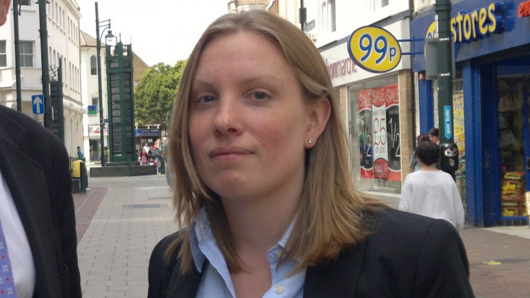 Tracey Crouch: remains in her post as minister for sports and civil society