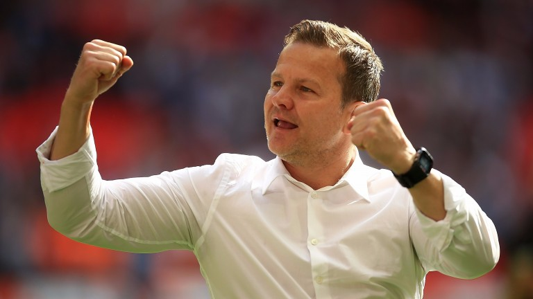 Forest Green manager Mark Cooper