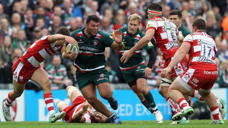 Prop Ellis Genge can help the Leicester front row make a real impact