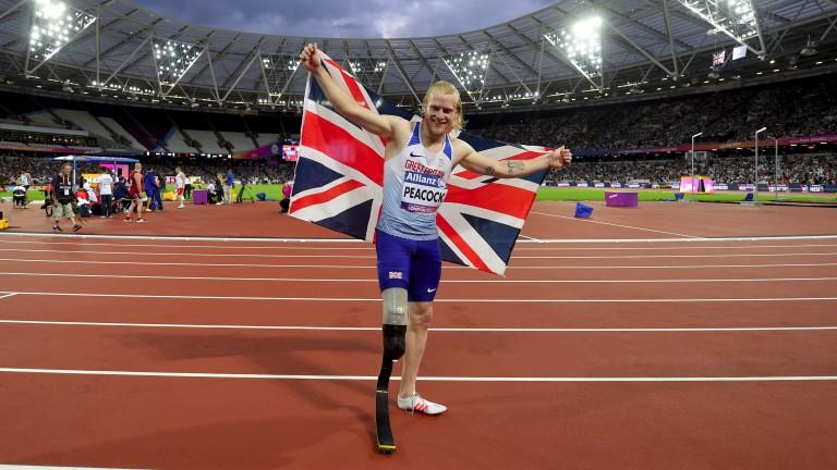 Paralympics star Jonnie Peacock
