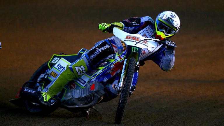 Speedway racer Chris Holder
