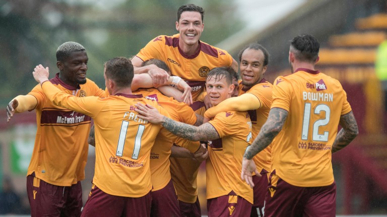 Motherwell beat Aberdeen 3-0 in the Betfred Cup earlier this season