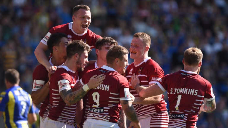 Wigan will be looking to end their season in a blaze of tryscoring glory