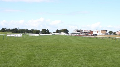 Empty acres at Ayr on Saturday after the loss of its big Western meeting