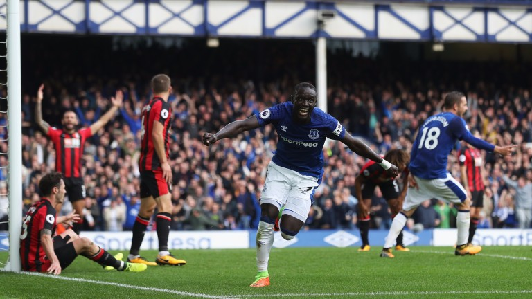 Everton's Oumar Niasse gets the winner against Bournemouth
