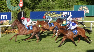Action at Hamilton which is in doubt on Monday with rain forcing early inspection