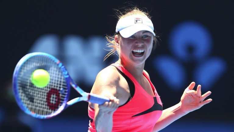 Vera Zvonareva made the final in Dalian earlier this month