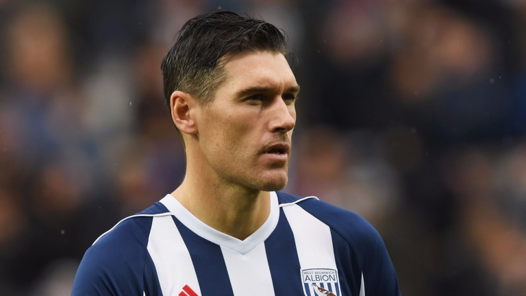 West Brom's Gareth Barry
