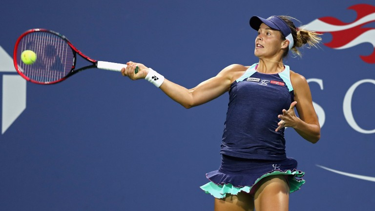 Tatjana Maria could face a tough test in Tashkent