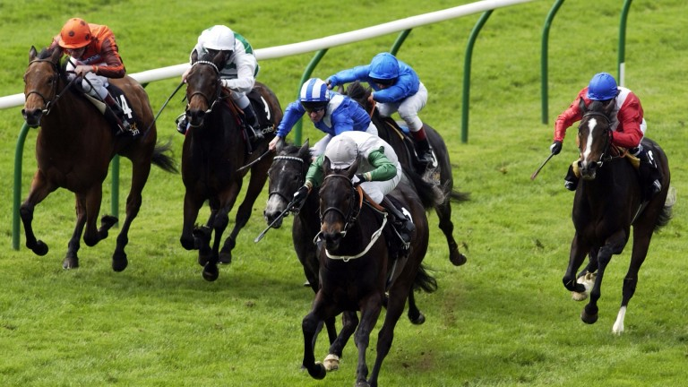 Attraction leads the way home in the 1,000 Guineas