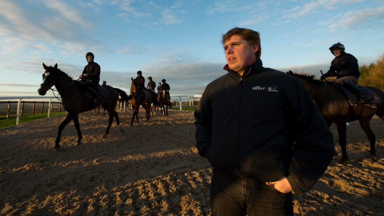 Dan Skelton: has suffered a big blow with the death of Captain Forez