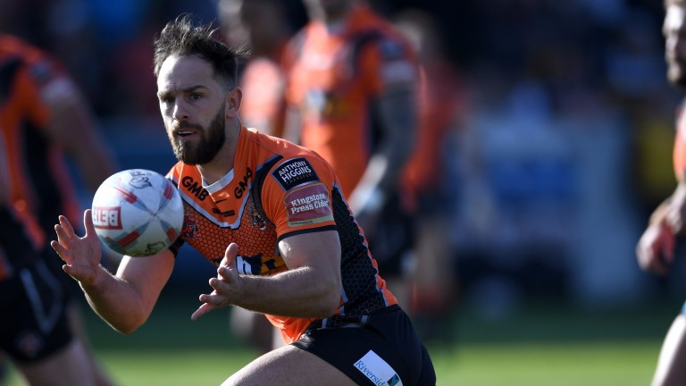 Castleford's Luke Gale has been recovering from an appendix operation