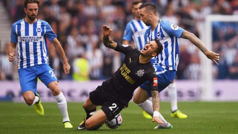 Shane Duffy was fortunate to escape punishment for his tackle on Joselu