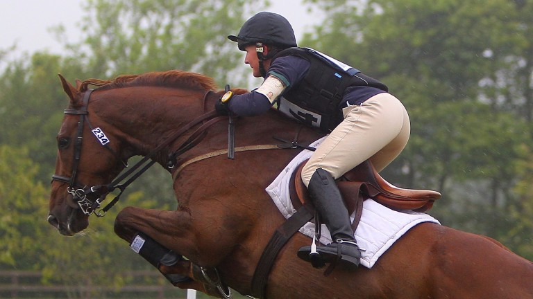 Edie Murray-Hayden in action as a three-day eventer