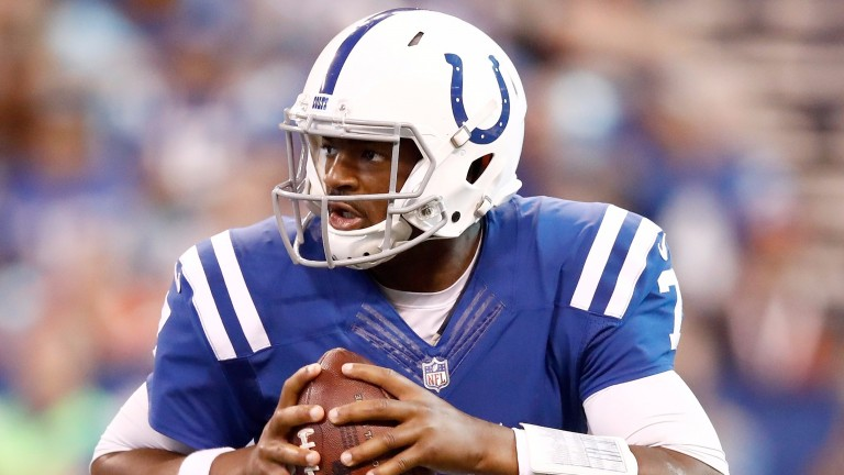 Jacoby Brissett will continue as Indianapolis quarterback