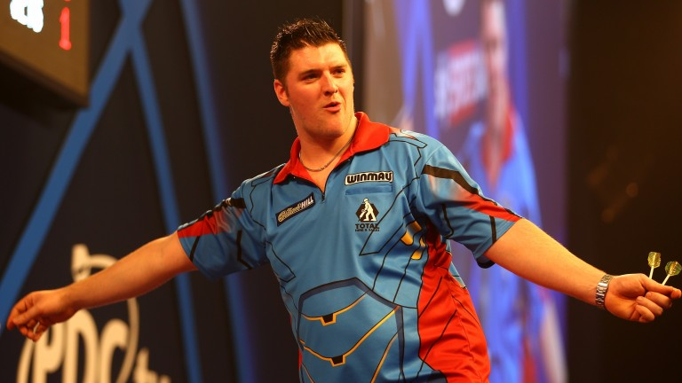 Daryl Gurney read to land his first major TV title