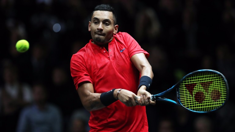 Nick Kyrgios lit up the Laver Cup