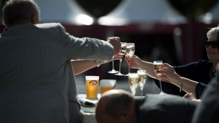 Alcohol intake at racetracks is continually becoming a hot topic