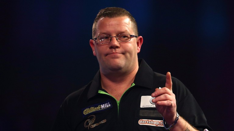 Steve West has the game to outscore James Wade