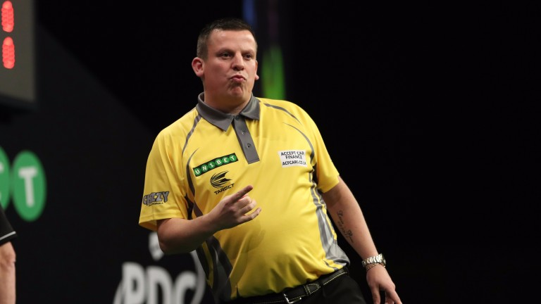 Dave Chisnall has a big title chance in Ireland