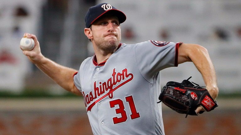 Washington pitcher Max Scherzer is rated one of the best in the MLB