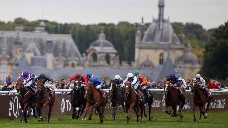 Chantilly: a more than able host for the Arc meeting during Longchamp's redevelopment