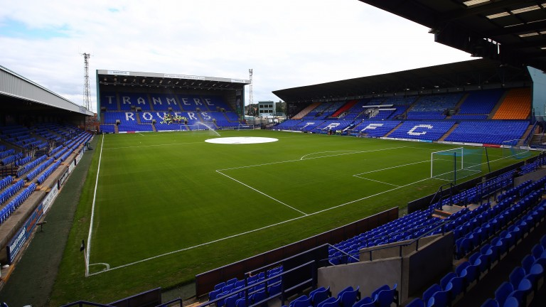 Tranmere Rovers' ground Prenton Park